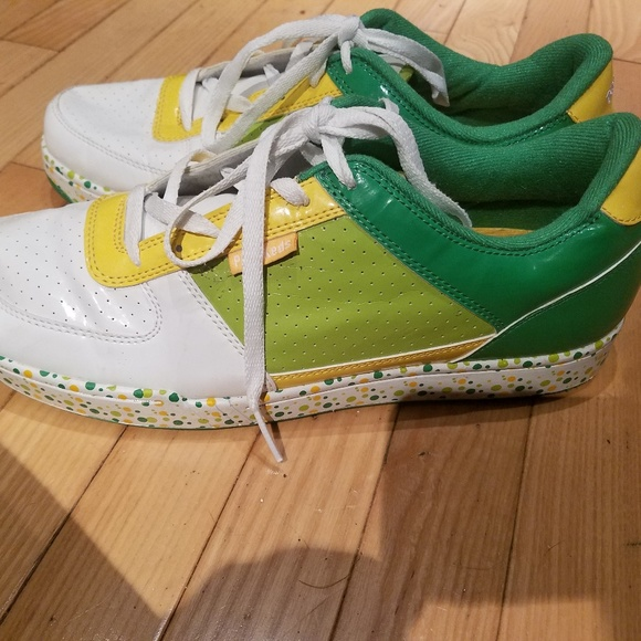 size 40 f04d9 df5f7 adidas Other - Rare Pro Keds Adidas green basketball shoe